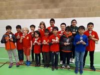 U9 Warwickshire team